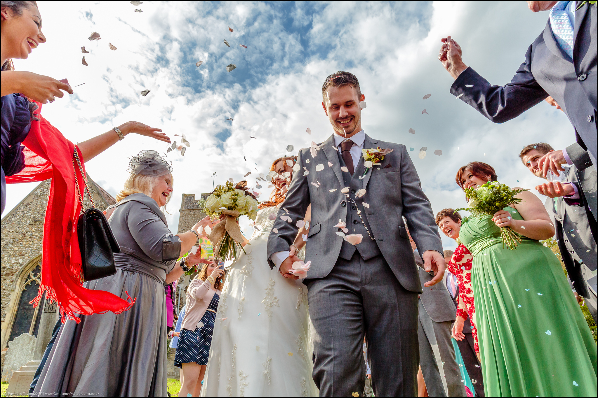Great Melton Old Rectory, Norfolk – Wedding of Andy and Rebecca Richardson